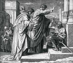 Piotr i Jan - uzdrowienie chromego