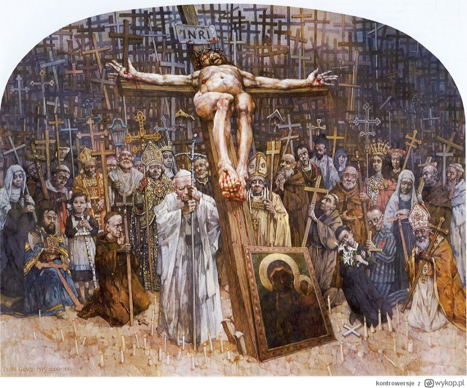 Obraz znaleziony dla: On to dla nas grzechem uczynił Tego, który nie znał grzechu,